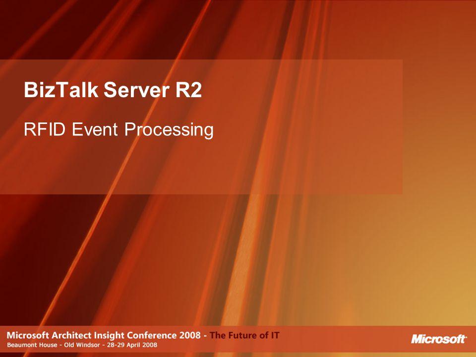 BizTalk Server R2 RFID Event Processing [JP]